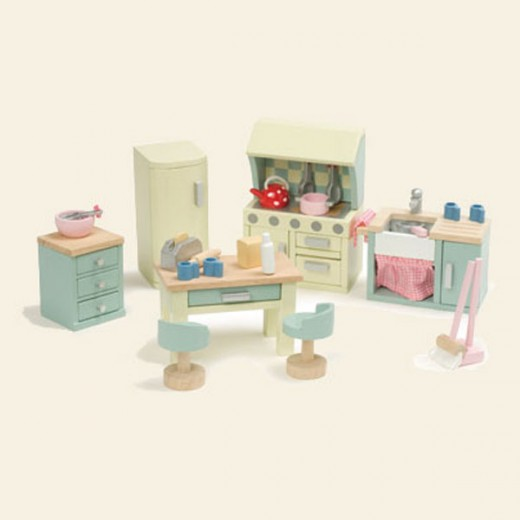 ME059-Rosebud Kitchen Set