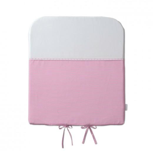 peleinkázó matrac rózsaszín szíves