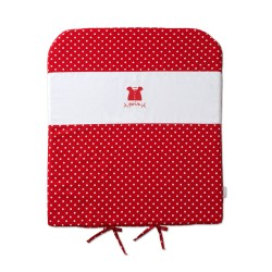 Pois pelenkázó matrac piros