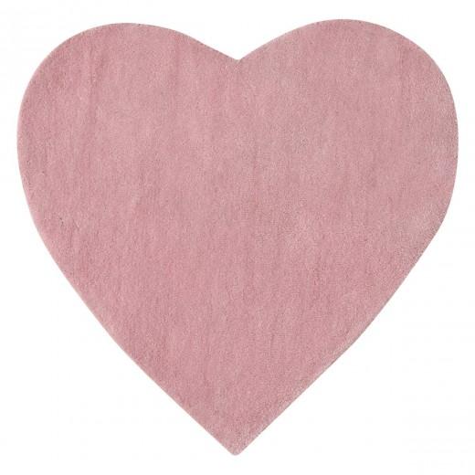 szív alakú gyerekszőnyeg