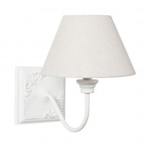 Valentine fali lámpa fehér